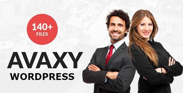 Avaxy - Responsive Multipurpose WordPress Theme - Corporate WordPress