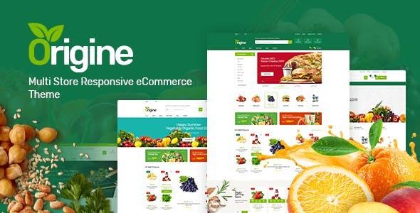 Organic Food HTML Template - Origine