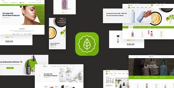 Kaline - Multipurpose Responsive Shopify Theme - Health & Beauty Shopify