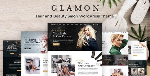 Glamon - Salon & Barber Shop Theme - Health & Beauty Retail