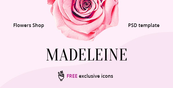 Madeleine – eCommerce PSD Template - Shopping Retail