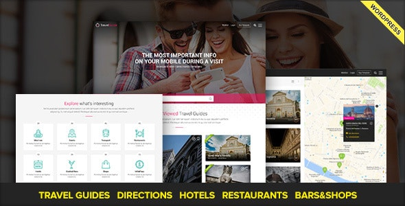 TRAVELGUIDE - Guides, Places and Directions WordPress Theme - Travel Retail