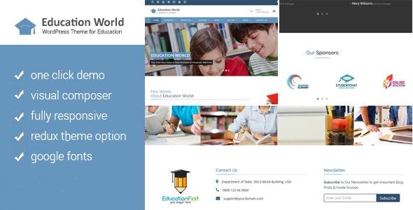 Eduvision - Education WordPress Theme - 3
