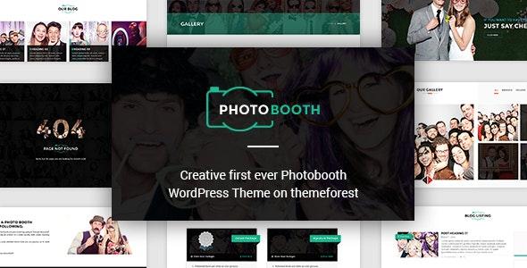 PhotoBooth - Photography Portfolio WordPress Theme - Photography Creative
