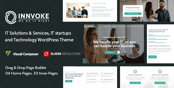 Innvoke - IT Solutions & Services WordPress Theme - Business Corporate