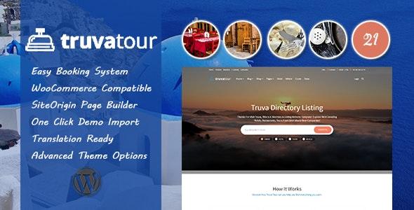 TruvaTour - Travel, Tour WordPress Theme - Travel Retail
