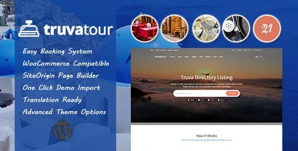 TruvaTour - Travel, Tour WordPress Theme