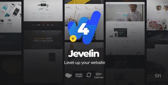 Jevelin Multi-Purpose Premium Responsive WordPress Theme by Shufflehound