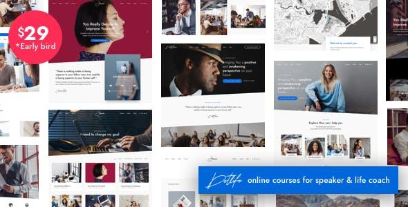 DotLife | Coach Speaker WordPress nulled theme download
