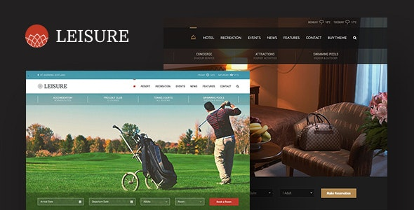 Hotel Leisure WordPress Theme - Miscellaneous WordPress