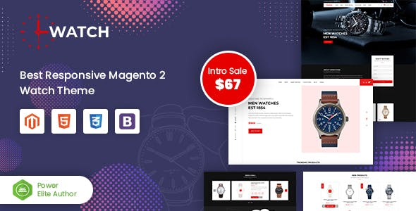 Watch - Multipurpose Responsive Magento 2 Theme nulled theme download