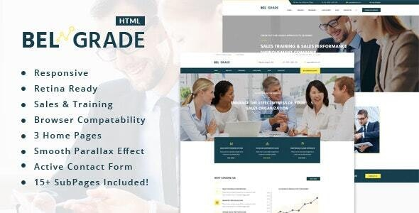 Belgrade - Consulting & Business HTML Template - Business Corporate