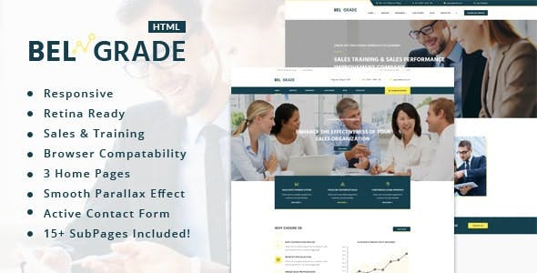 Belgrade - Consulting & Business HTML Template