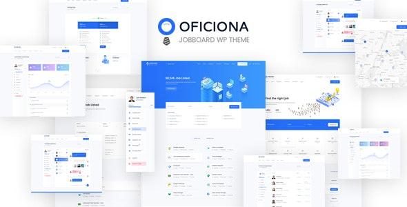 Oficiona - Job Board WordPress Theme - Directory & Listings Corporate