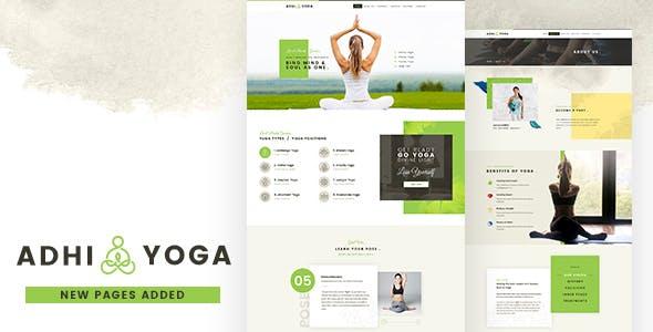 Adhi | Yoga, Meditation PSD