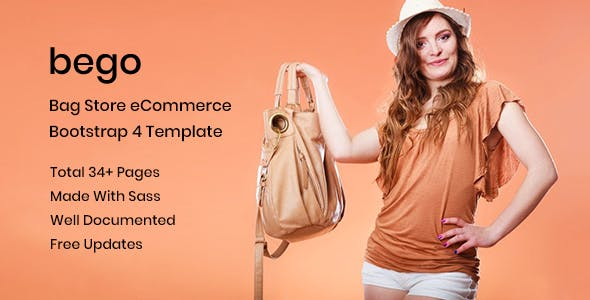 Bego – Bag Store HTML5 Template