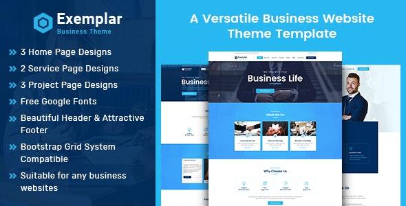 Exemplar Business Theme - Business Corporate