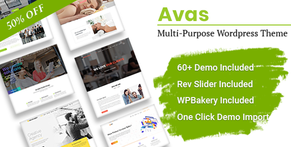 Avas | Multi-Purpose WordPress Theme - Business Corporate