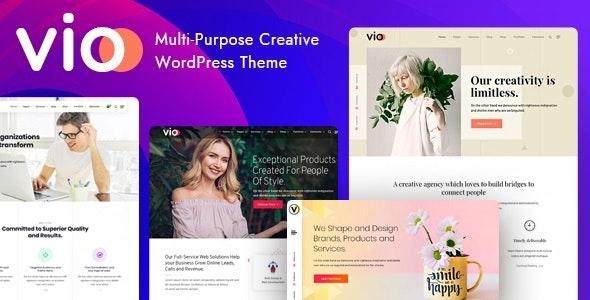 Vio - Corporate Business WordPress Theme - Business Corporate