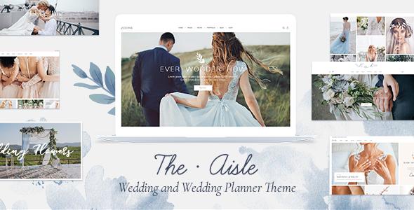 The Aisle - Elegant Wedding Theme - Wedding WordPress