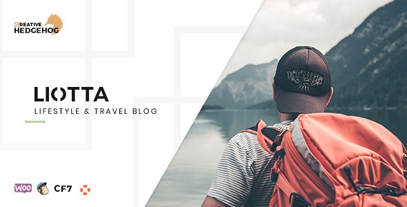 Liotta - a Responsive Blog Theme For WordPress - Personal Blog / Magazine