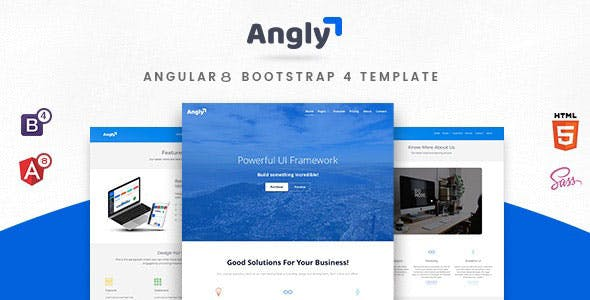 Angular 6 eCommerce Website Templates from ThemeForest