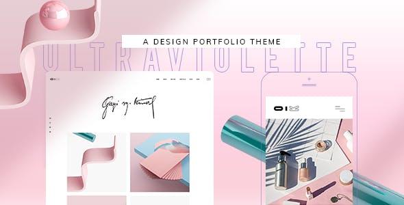 UltraViolette - Design Portfolio Theme