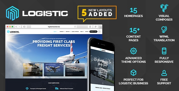 Logistic – WP Theme For Transportation Business