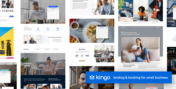 Kingo | Booking for Small Businesses - Retail WordPress