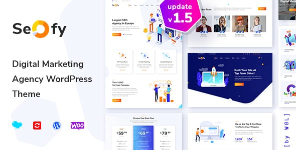 Seofy - SEO & Digital Marketing Agency WordPress Theme - Marketing Corporate