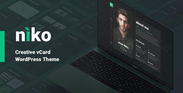 Niko - Resume WordPress Theme nulled theme download
