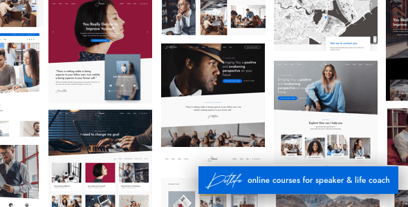 DotLife | Coach Speaker WordPress - Education WordPress