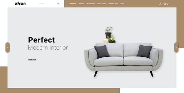 Efron Multipurpose - Responsive Opencart 3.0 Theme