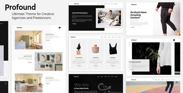 Profound - A Multi-concept Theme for Agencies and Freelancers - Portfolio Creative