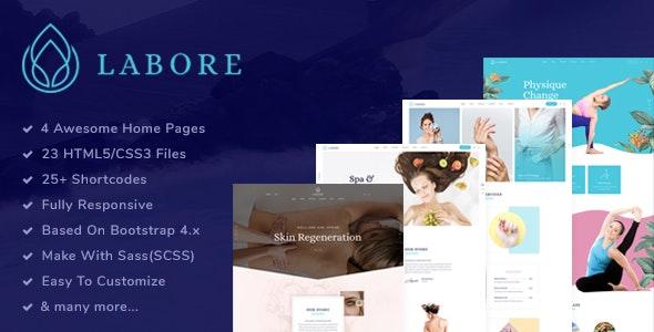 Labore - Spa, Beauty & Yoga HTML5 Template - Health & Beauty Retail