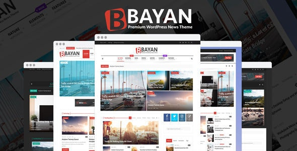 Bayan - Newspaper & Magazine WordPress Theme - News / Editorial Blog / Magazine