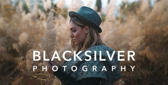 Blacksilver | Photography Theme for WordPress - Photography Creative