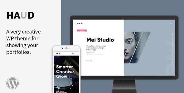 Haud - A Creative Portfolio Theme - Portfolio Creative
