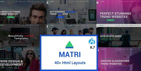 Matri   Responsive Multi-Purpose Drupal 8.9 Theme