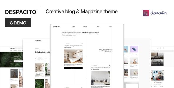 Despacito – WordPress Magazine and Blog Theme - Blog / Magazine WordPress