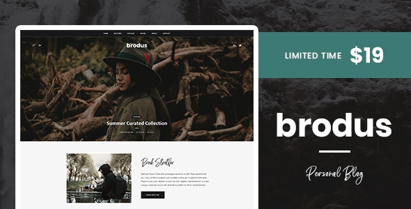 Brodus - Personal Blog WordPress Theme - Personal Blog / Magazine