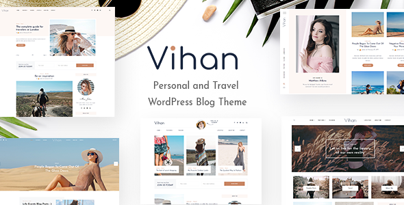 Vihan | Personal & Travel WordPress Blog Theme - Personal Blog / Magazine