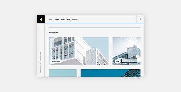 Heindal - Architecture Portfolio Template - Creative Site Templates