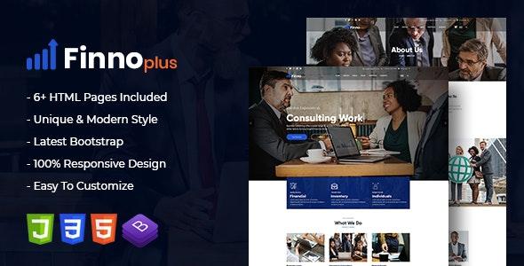 finnoplus - MultiPurpose Bootstrap 4 Template - Business Corporate
