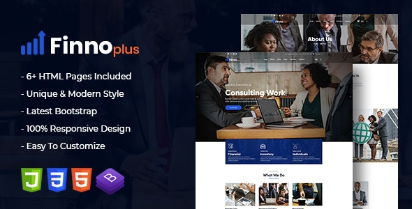 finnoplus - MultiPurpose Bootstrap 4 Template - Business Corporate