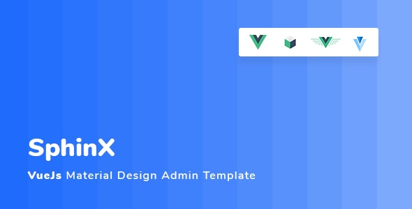 Sphinx - Vuejs Material Design Admin Template by SpanTags | ThemeForest