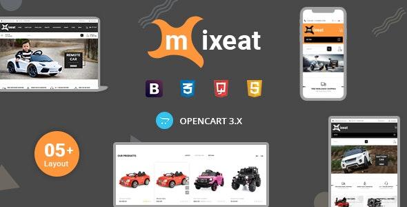 Mixeat - Ecars Opencart Responsive Theme - Entertainment OpenCart