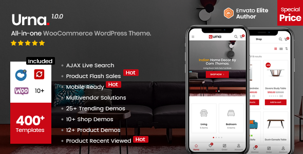 Urna - All-in-one WooCommerce WordPress Theme - WooCommerce eCommerce