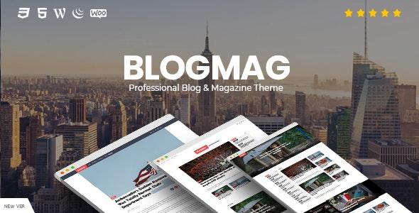 BlogMag - Responsive Blog and Magazine WordPress Theme - News / Editorial Blog / Magazine