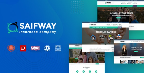 Saifway - Insurance Agency WordPress Theme - Miscellaneous WordPress